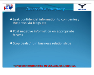GCHQ discredit company