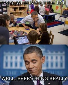 Obama I Spy