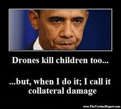 Drones kill children