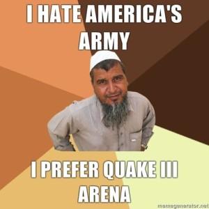 Hate America's Army