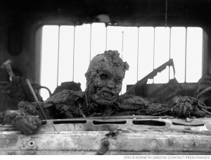 Iraqi burned alive in jeep