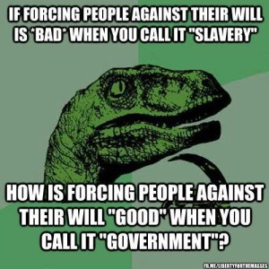 slavery and government