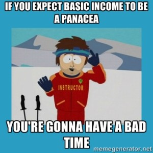 Basic Income Bad Time
